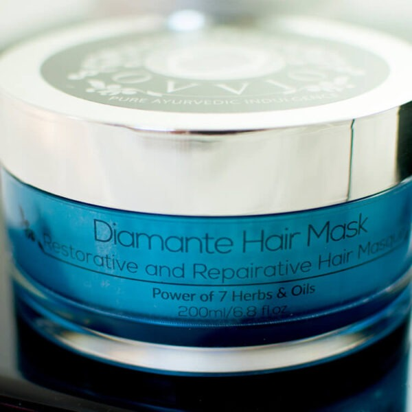 diamante-hair-mask
